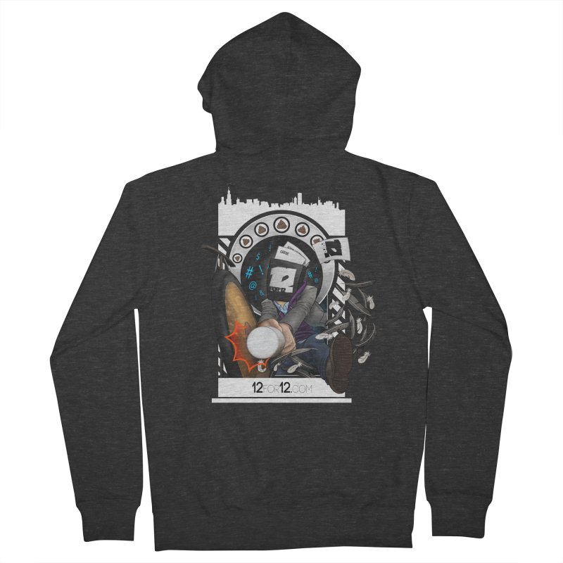 Episode 5 Men's French Terry Zip-Up Hoody by 12for12's Artist Shop