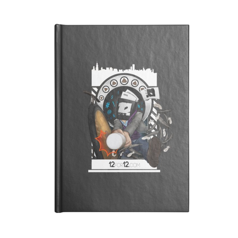 Episode 5 Accessories Lined Journal Notebook by 12for12's Artist Shop