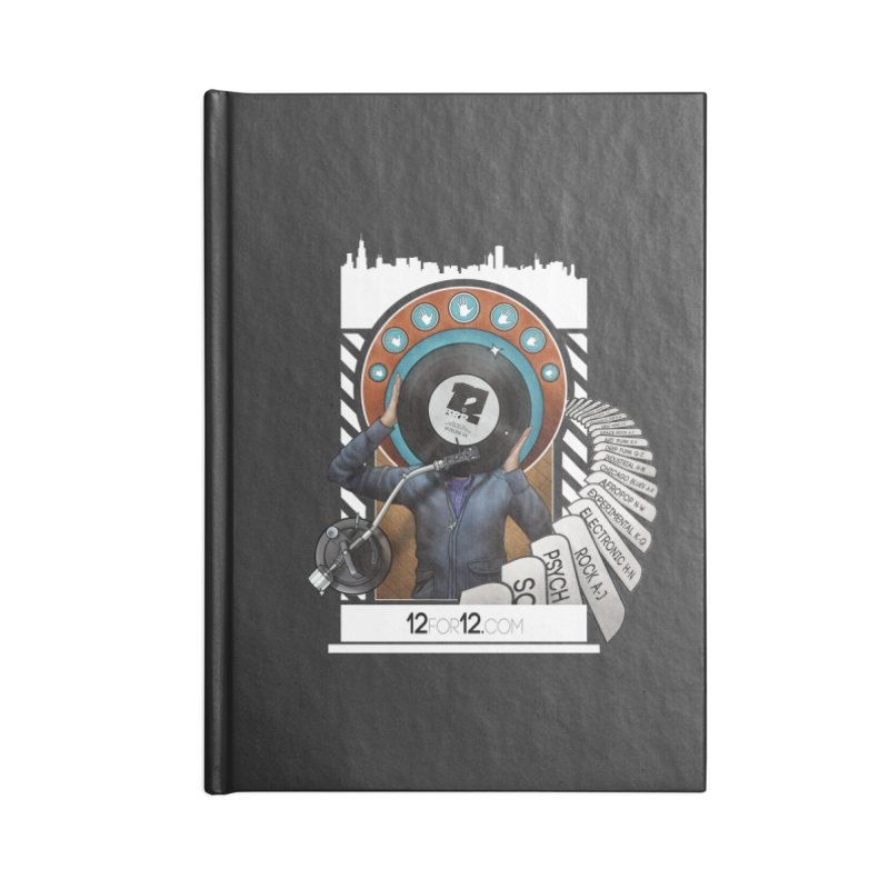 Episode 4 Accessories Lined Journal Notebook by 12for12's Artist Shop