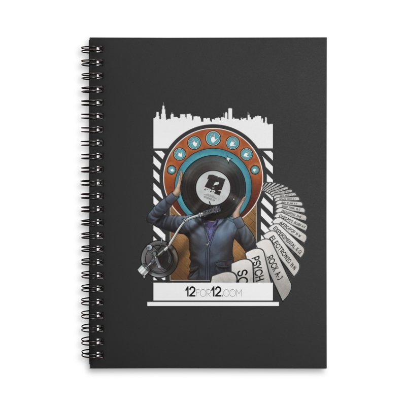 Episode 4 Accessories Lined Spiral Notebook by 12for12's Artist Shop