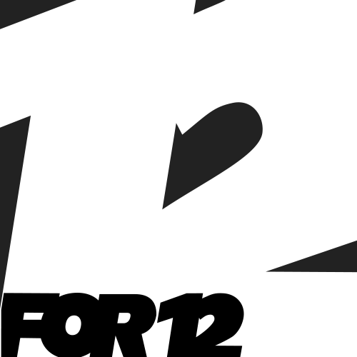 12for12's Artist Shop Logo