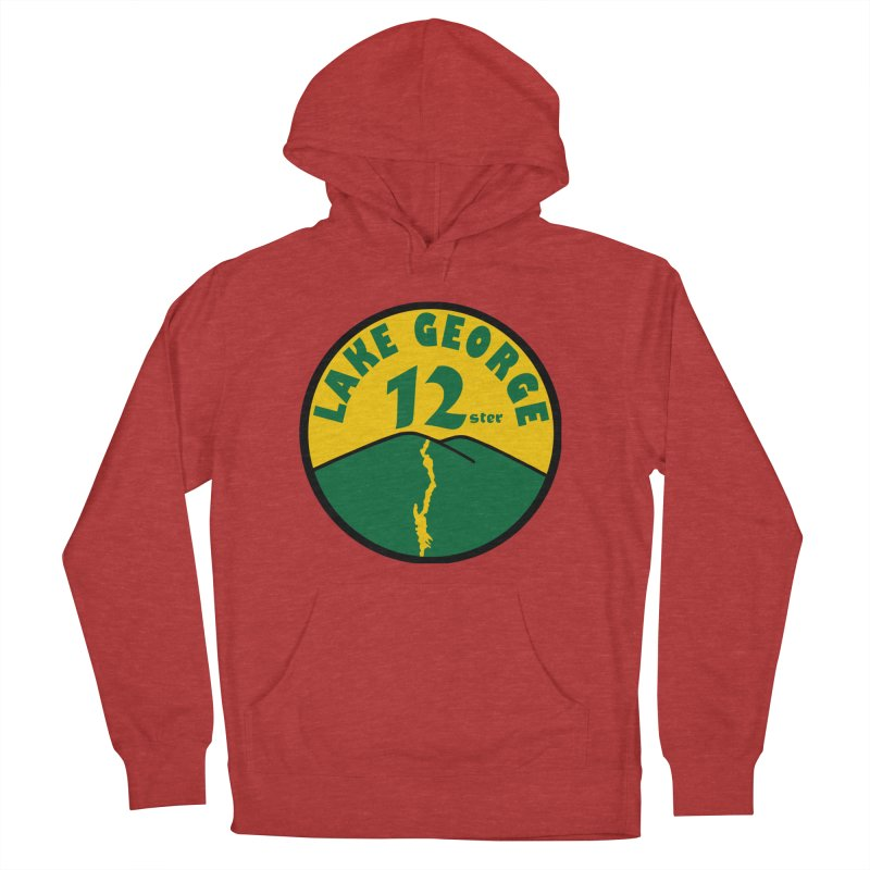 Lake George 12ster Men's French Terry Pullover Hoody by 12ster's Artist Shop