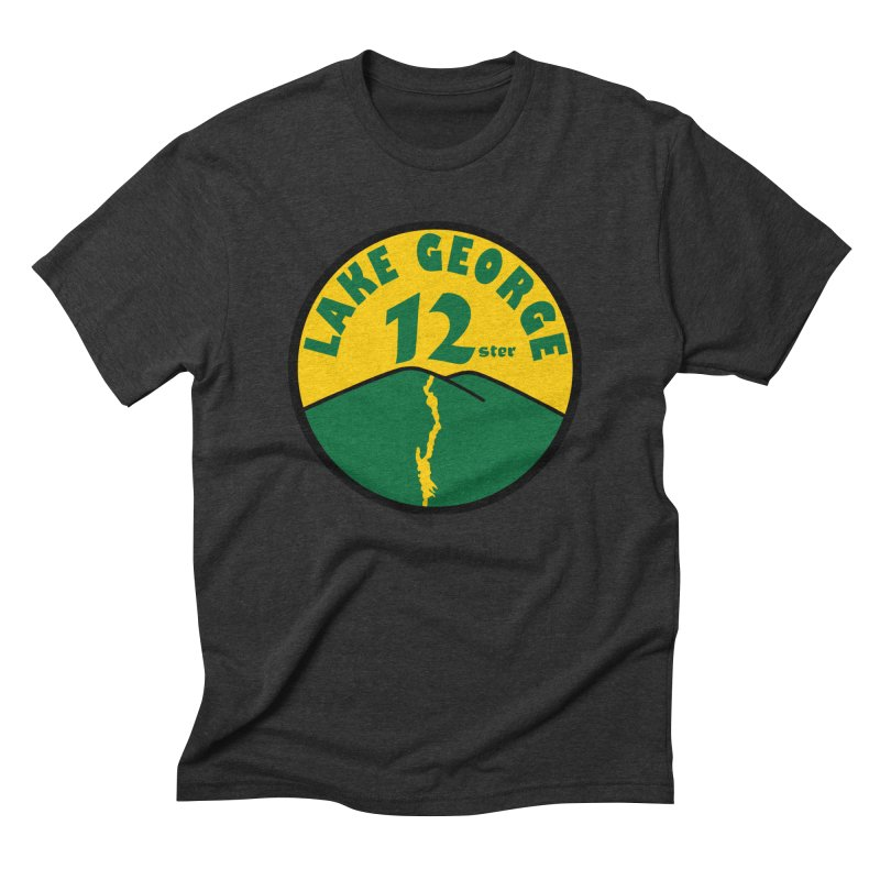 Lake George 12ster Men's Triblend T-Shirt by 12ster's Artist Shop