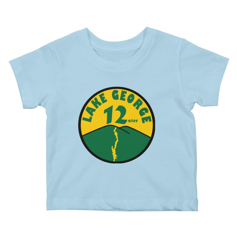 Lake George 12ster Kids Baby T-Shirt by 12ster's Artist Shop