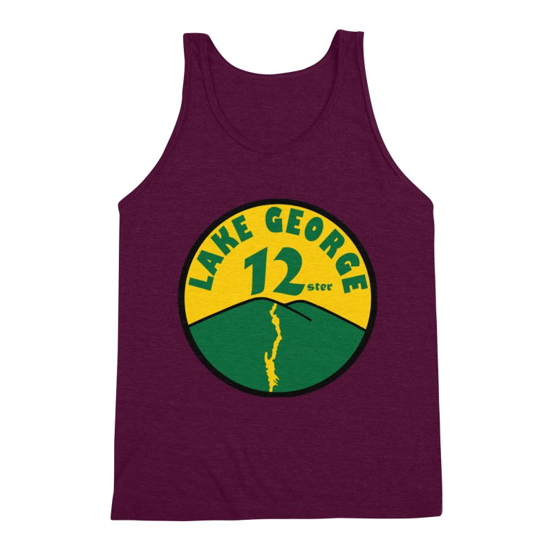 Lake George 12ster Men's Triblend Tank by 12ster's Artist Shop