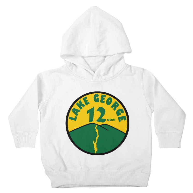 Lake George 12ster Kids Toddler Pullover Hoody by 12ster's Artist Shop