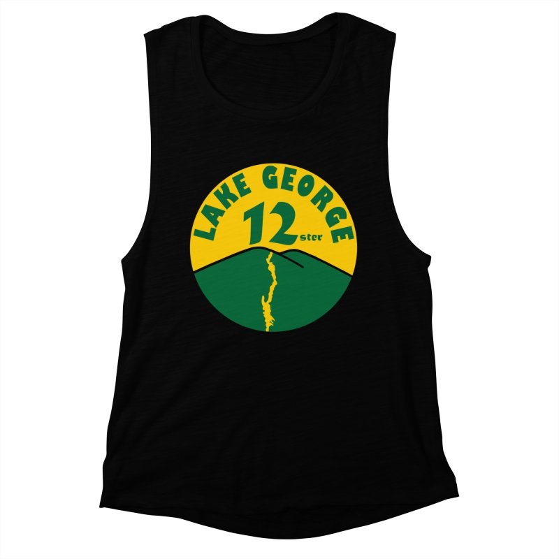 Lake George 12ster Women's Muscle Tank by 12ster's Artist Shop