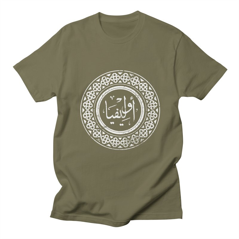 Olivia - Name In Arabic Men's T-Shirt by 1337designs's Artist Shop