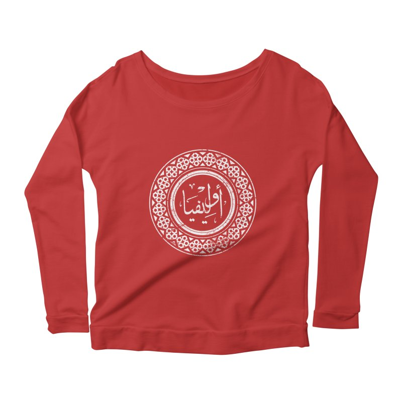 Olivia - Name In Arabic Women's Longsleeve Scoopneck  by 1337designs's Artist Shop