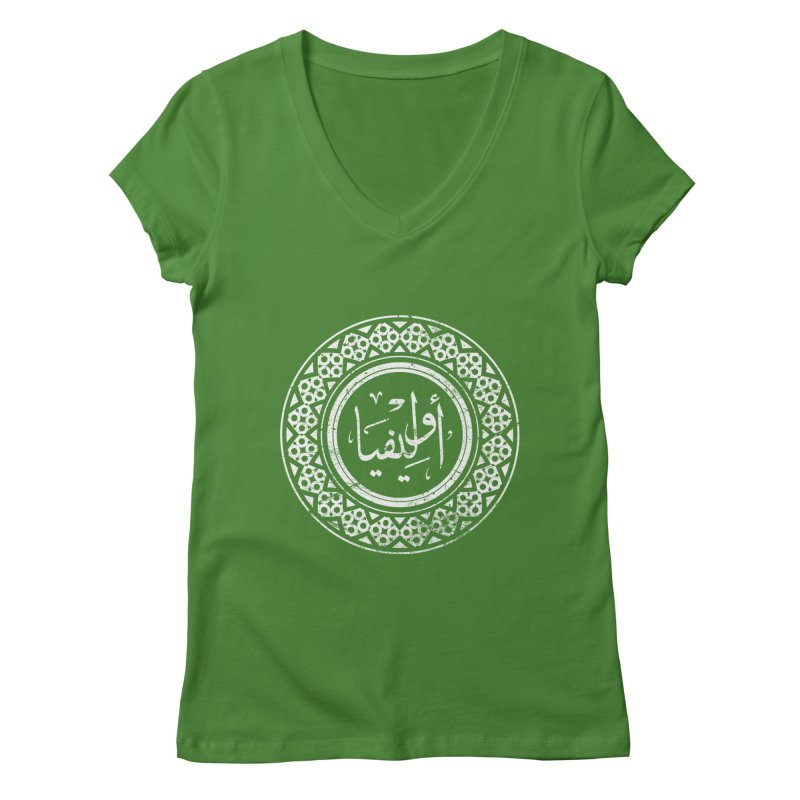 Olivia - Name In Arabic Women's V-Neck by 1337designs's Artist Shop