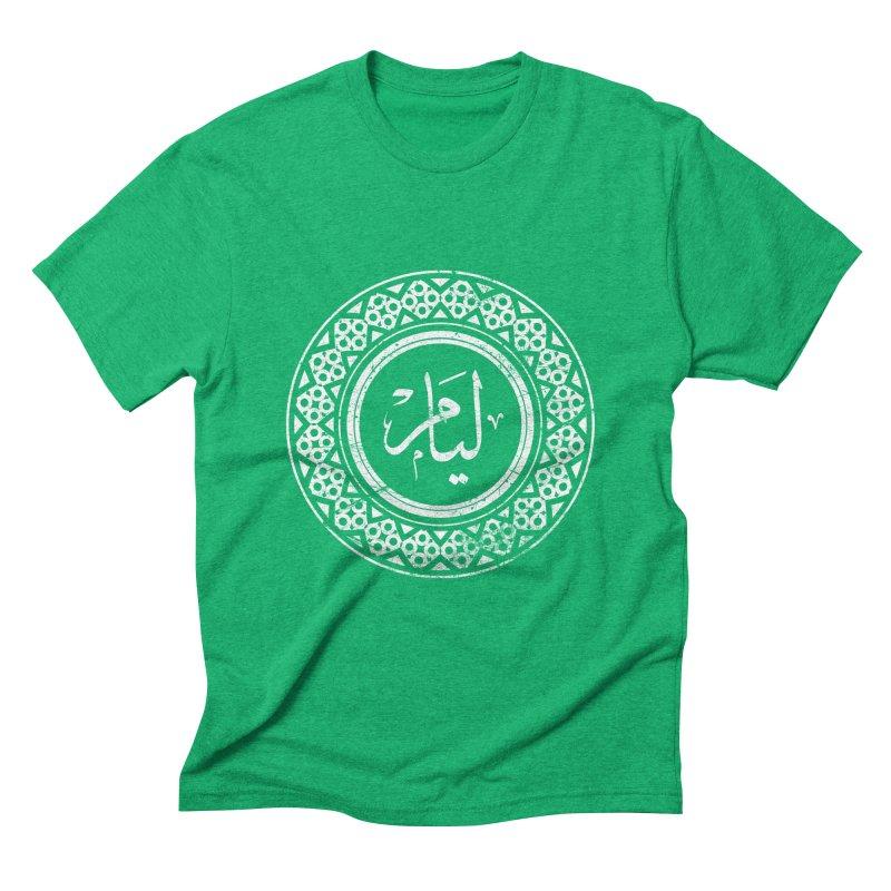 Liam - Name In Arabic Men's Triblend T-shirt by 1337designs's Artist Shop