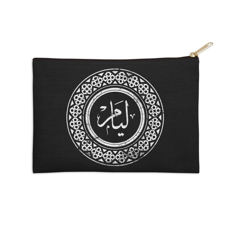 Liam - Name In Arabic Accessories Zip Pouch by 1337designs's Artist Shop