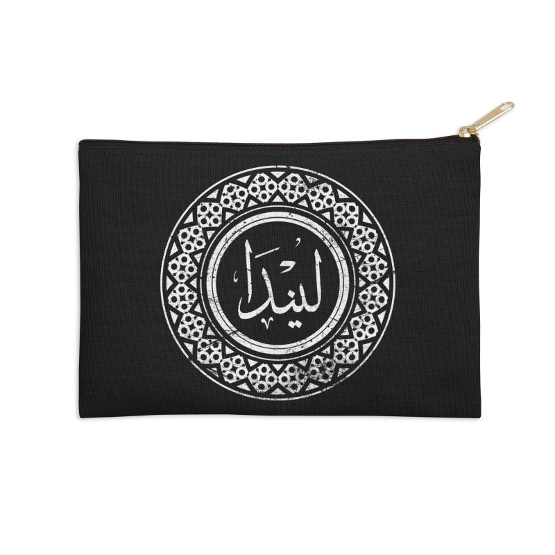 Linda - Name In Arabic Accessories Zip Pouch by 1337designs's Artist Shop