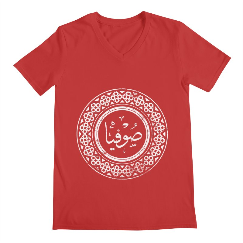 Sofia - Name In Arabic Men's V-Neck by 1337designs's Artist Shop