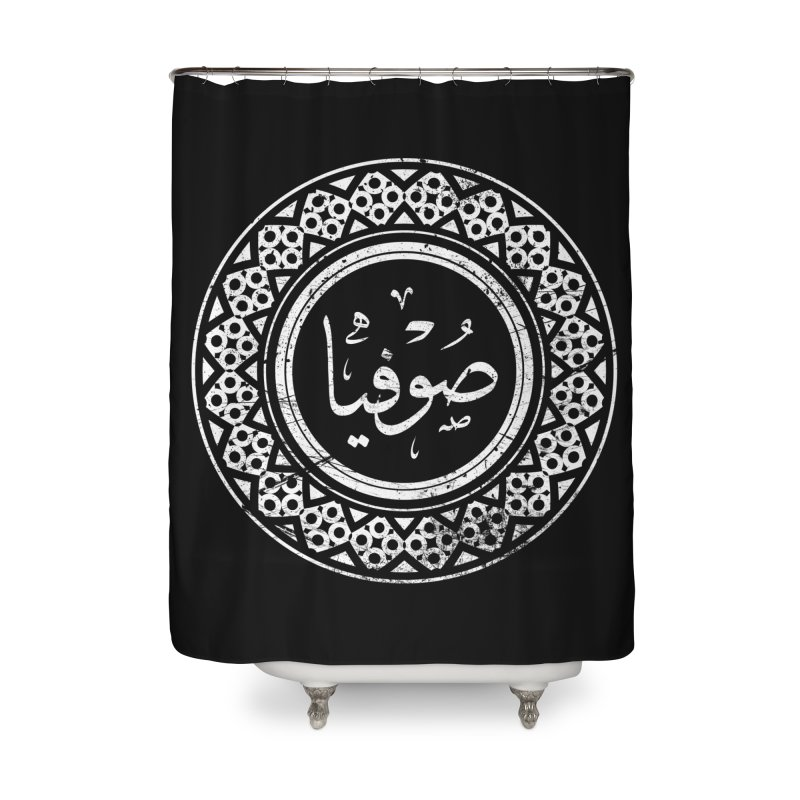 Sofia - Name In Arabic Home Shower Curtain by 1337designs's Artist Shop