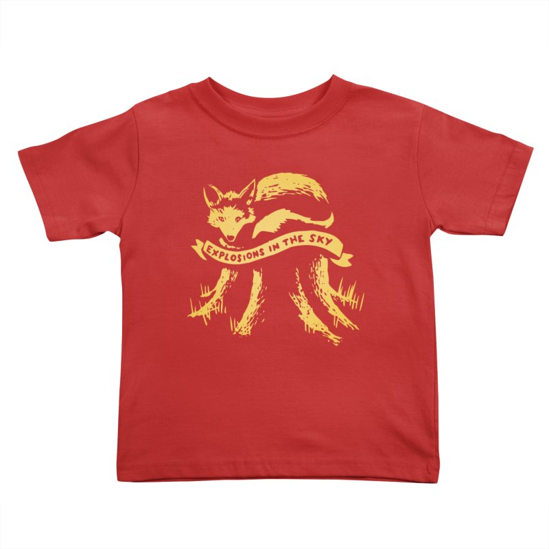 Explosions in the Sky (Tour 2017) Kids Toddler T-Shirt by 1337designs's Artist Shop