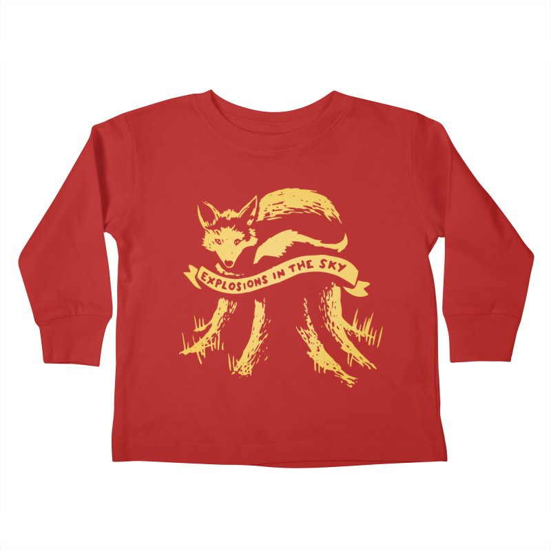 Explosions in the Sky (Tour 2017) Kids Toddler Longsleeve T-Shirt by 1337designs's Artist Shop