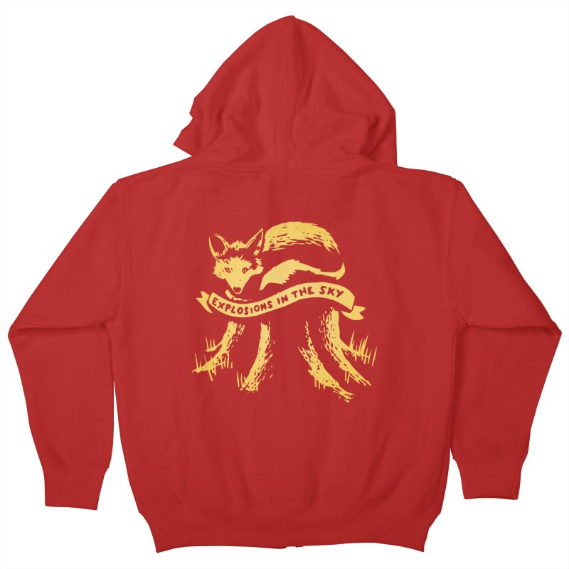 Explosions in the Sky (Tour 2017) Kids Zip-Up Hoody by 1337designs's Artist Shop