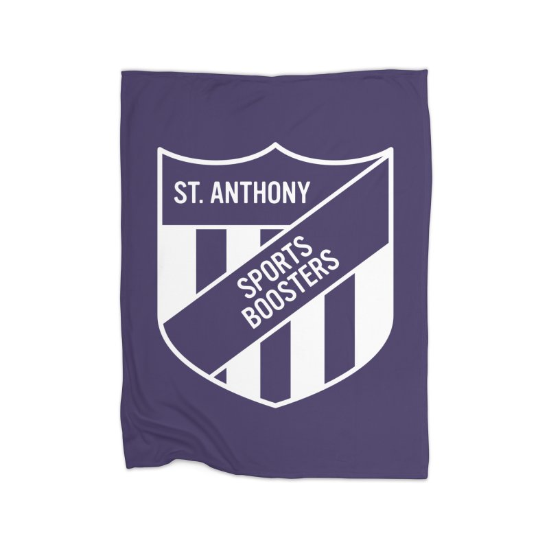 St.Anthony Sports Boosters Home Fleece Blanket by 144design