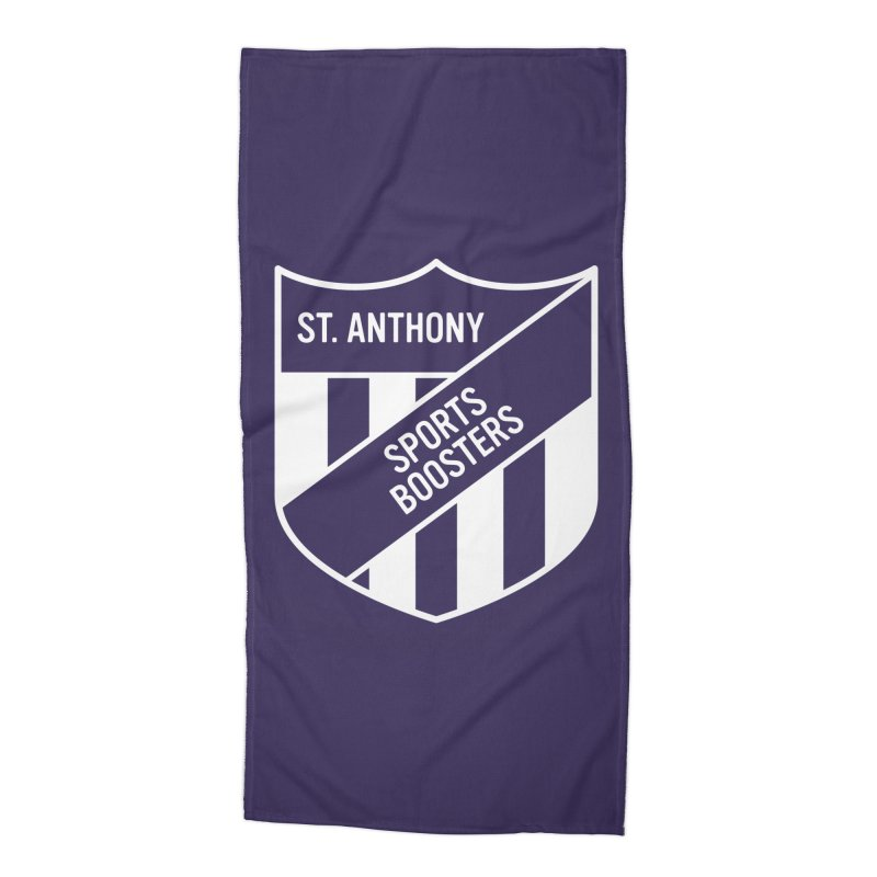 St.Anthony Sports Boosters Accessories Beach Towel by 144design
