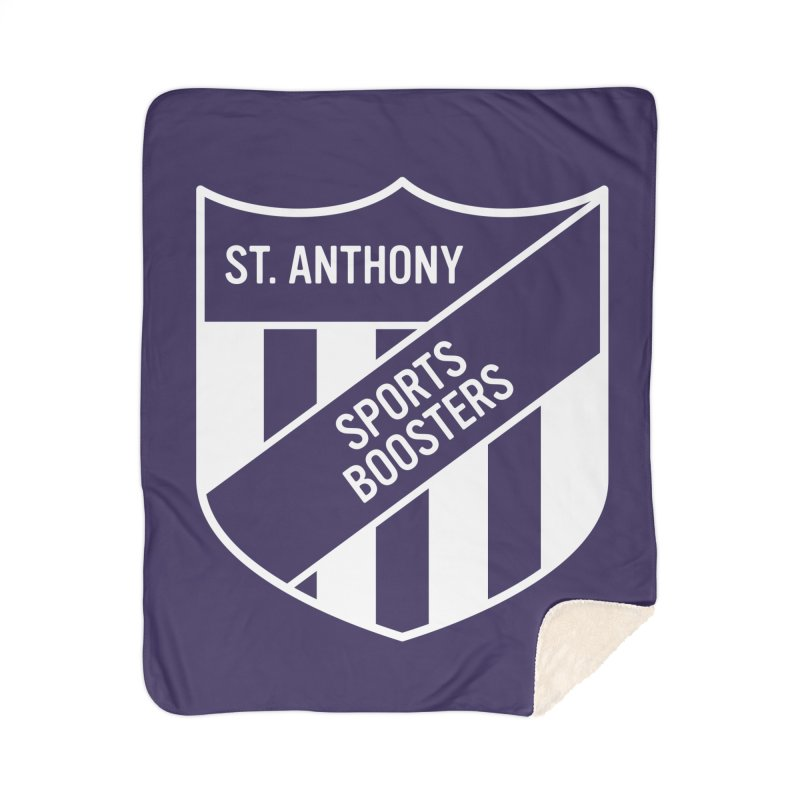 St.Anthony Sports Boosters Home Sherpa Blanket Blanket by 144design