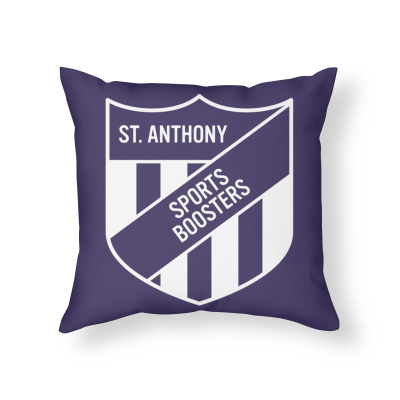 St.Anthony Sports Boosters Home Throw Pillow by 144design