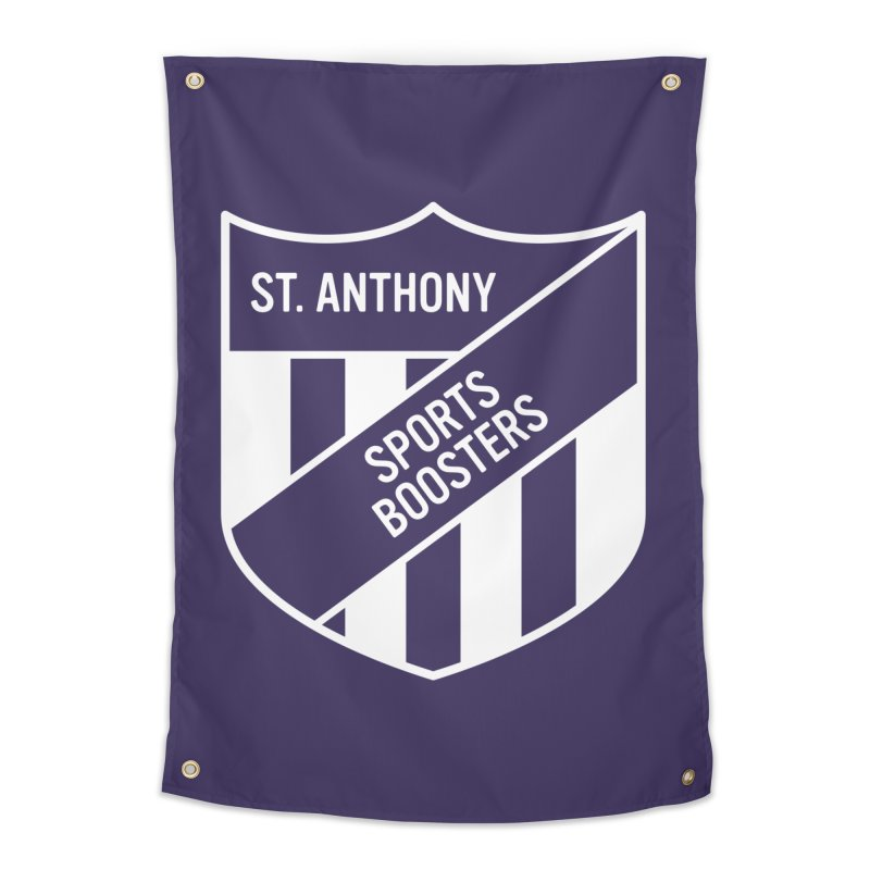 St.Anthony Sports Boosters Home Tapestry by 144design
