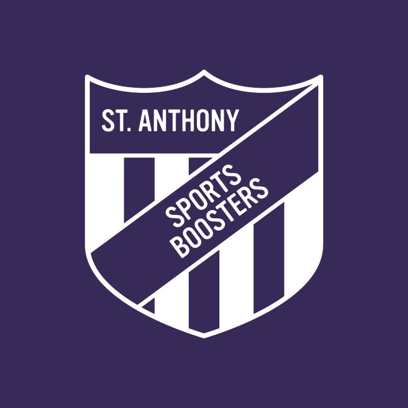 St.Anthony Sports Boosters Kids Longsleeve T-Shirt by 144design