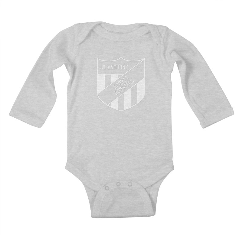 St.Anthony Sports Boosters Kids Baby Longsleeve Bodysuit by 144design