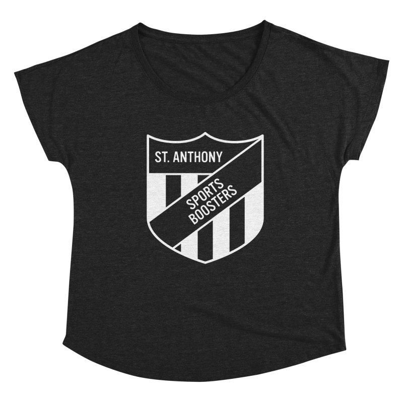 St.Anthony Sports Boosters Women's Dolman Scoop Neck by 144design