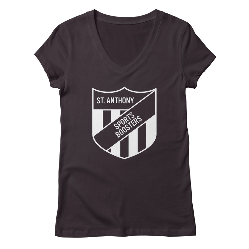 St.Anthony Sports Boosters Women's V-Neck by 144design