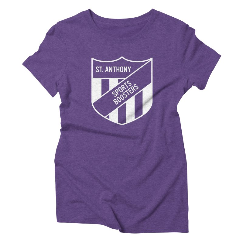 St.Anthony Sports Boosters Women's Triblend T-Shirt by 144design