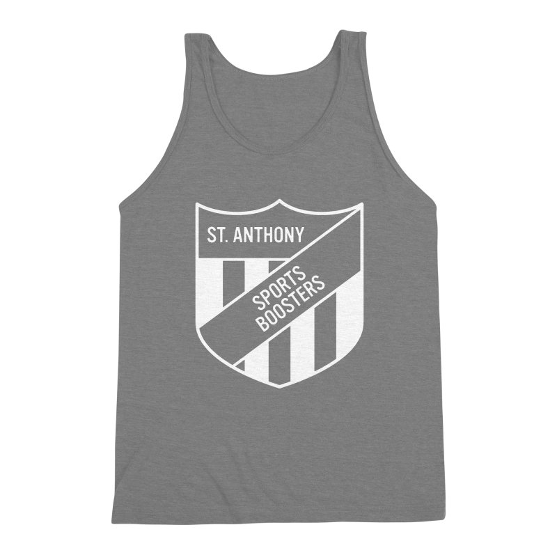 St.Anthony Sports Boosters Men's Triblend Tank by 144design