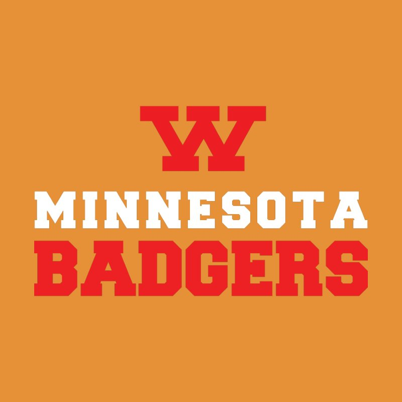 Minnesota Badgers Kids Pullover Hoody by 144design