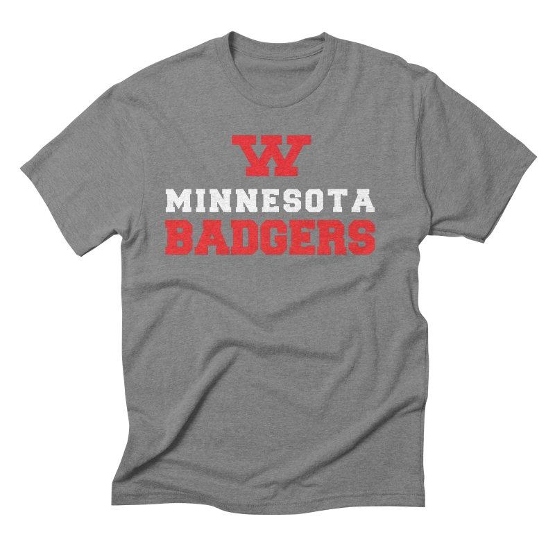 Minnesota Badgers Men's T-Shirt by 144design
