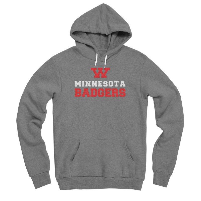 Minnesota Badgers Men's Pullover Hoody by 144design