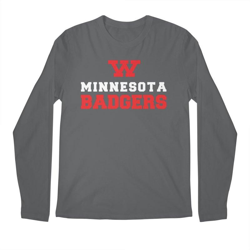 Minnesota Badgers Men's Longsleeve T-Shirt by 144design