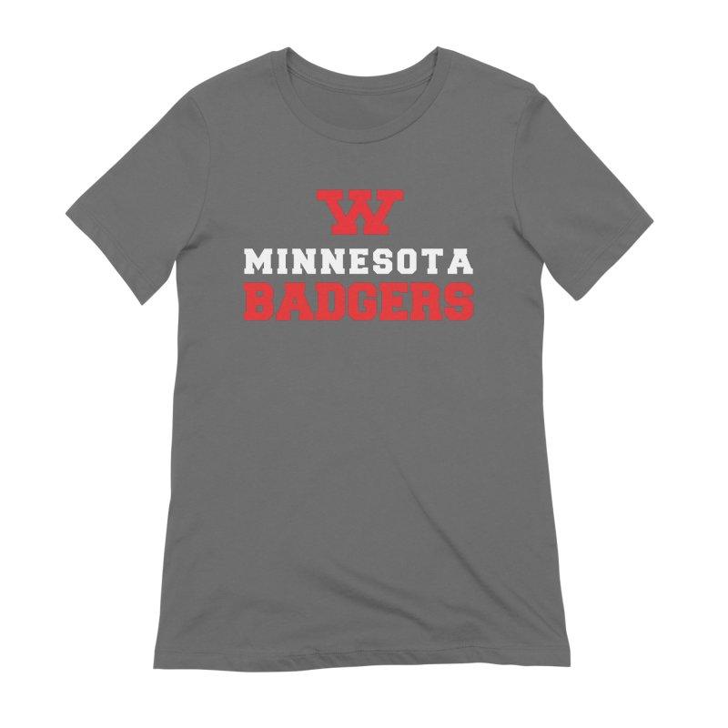Minnesota Badgers Women's T-Shirt by 144design