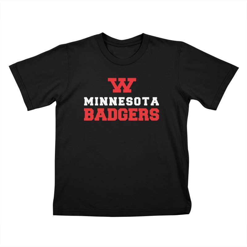 Minnesota Badgers Kids T-Shirt by 144design