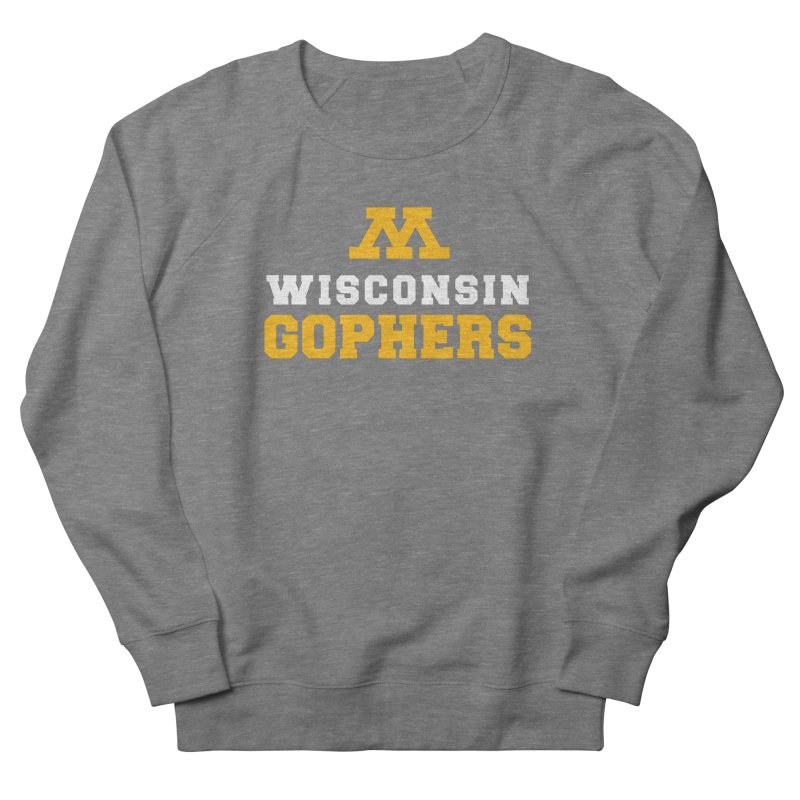 Wisconsin Gophers Women's French Terry Sweatshirt by 144design