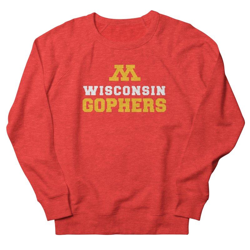 Wisconsin Gophers Men's Sweatshirt by 144design