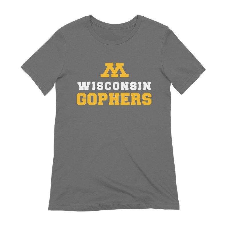 Wisconsin Gophers Women's T-Shirt by 144design