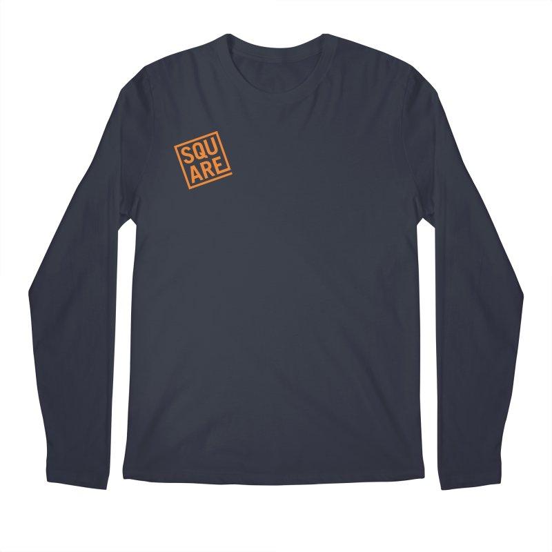 SQUARE Men's Regular Longsleeve T-Shirt by 144design