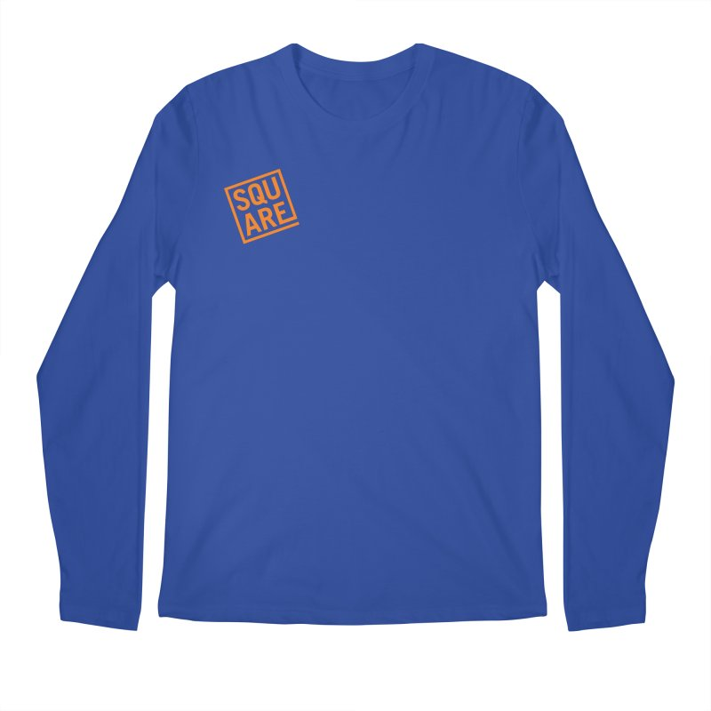 SQUARE Men's Regular Longsleeve T-Shirt by 144design