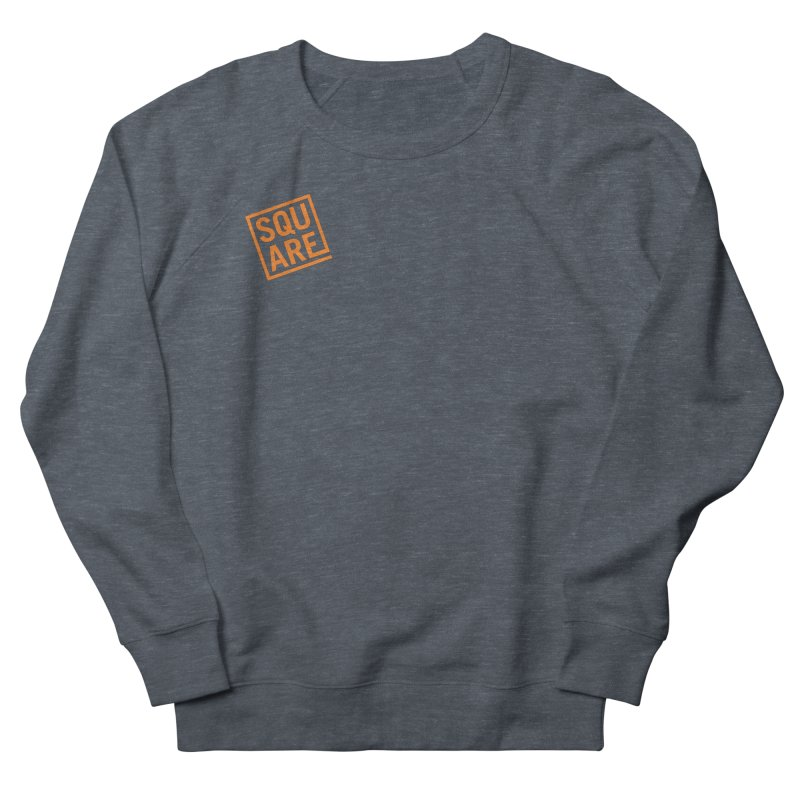 SQUARE Men's French Terry Sweatshirt by 144design
