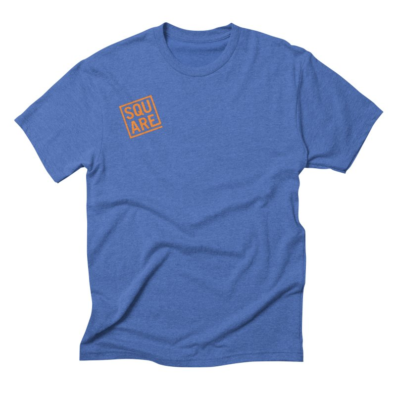 SQUARE Men's Triblend T-Shirt by 144design