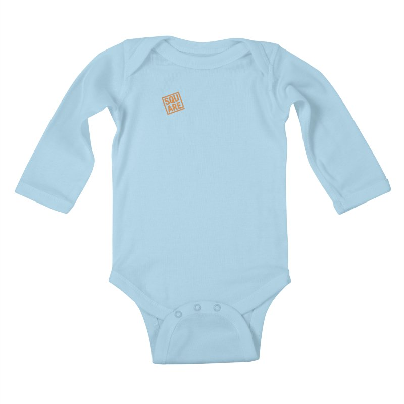 SQUARE Kids Baby Longsleeve Bodysuit by 144design