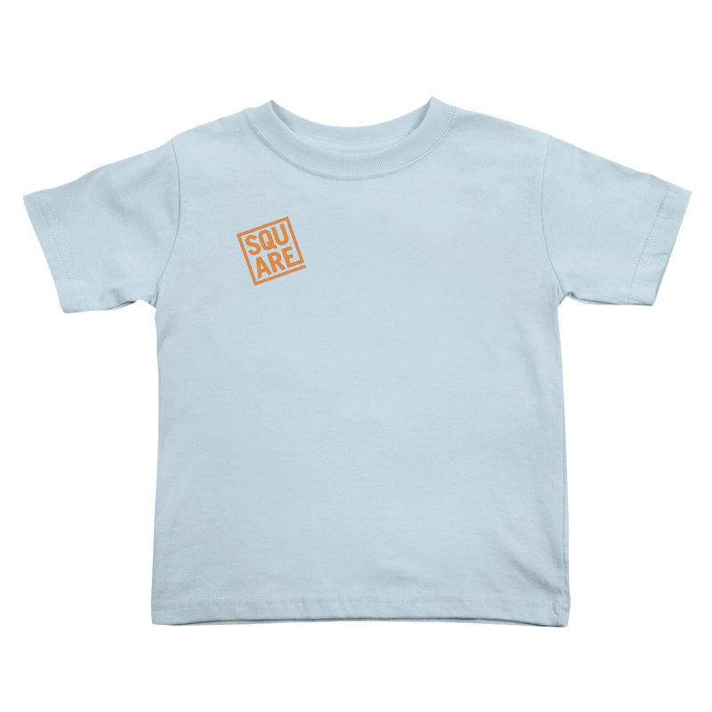 SQUARE Kids Toddler T-Shirt by 144design
