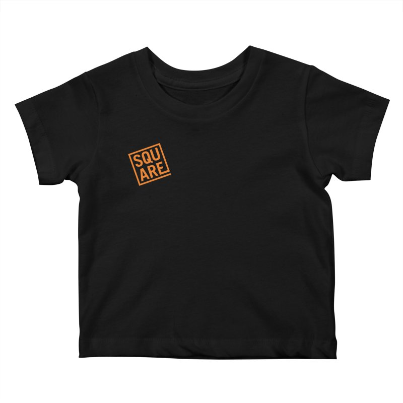 SQUARE Kids Baby T-Shirt by 144design