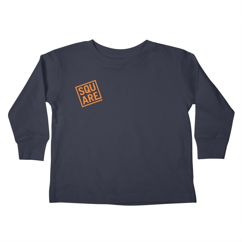 SQUARE Kids Toddler Longsleeve T-Shirt by 144design